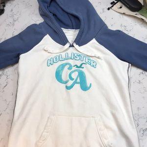 Hollister 3/4 sleeve hoodie.  Preloved   XL